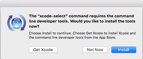 xcode-select-popup